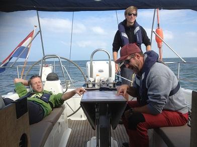 zeezeilen met schipper